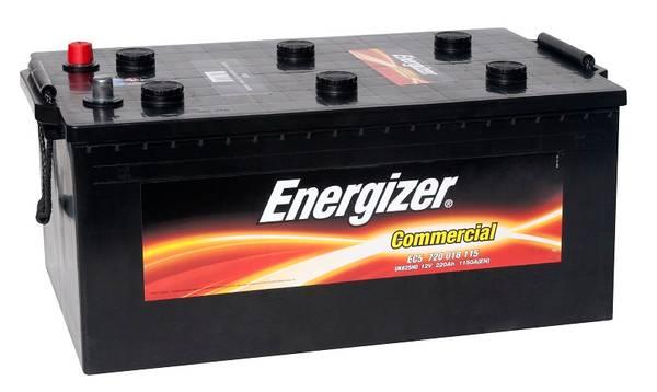 Bilde av EC5 ENERGIZER Commercial Batteri 12V 220AH 1150CCA (518x291x220/