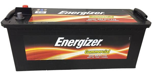 Bilde av EC33 ENERGIZER Commercial Batteri 12V 154AH 1150CCA (513x189x205