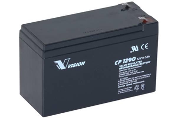 Bilde av VISION AGM Batteri 12V 9AH (151x65x100mm) F1