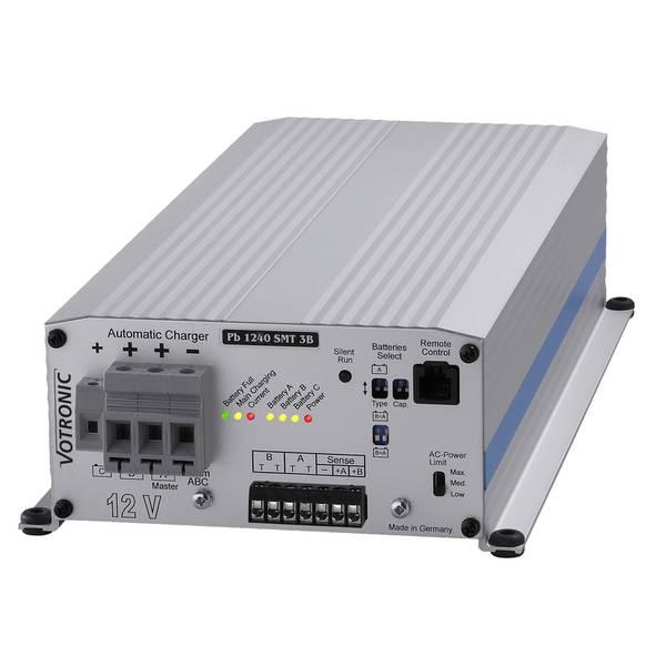 Bilde av VOTRONIC PB1240 Elektronisk Batterilader 12V 40A - 3 kanaler