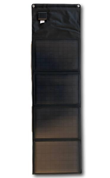 Bilde av SKANBATT Sammenleggbart solcellepanel 40W