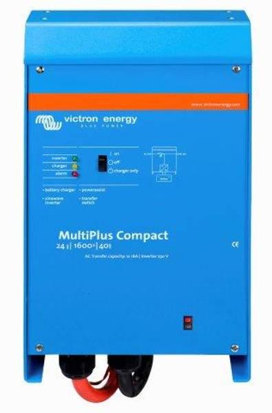 Bilde av VICTRON MultiPlus C24/1600/40-16 kombi inverter og lader