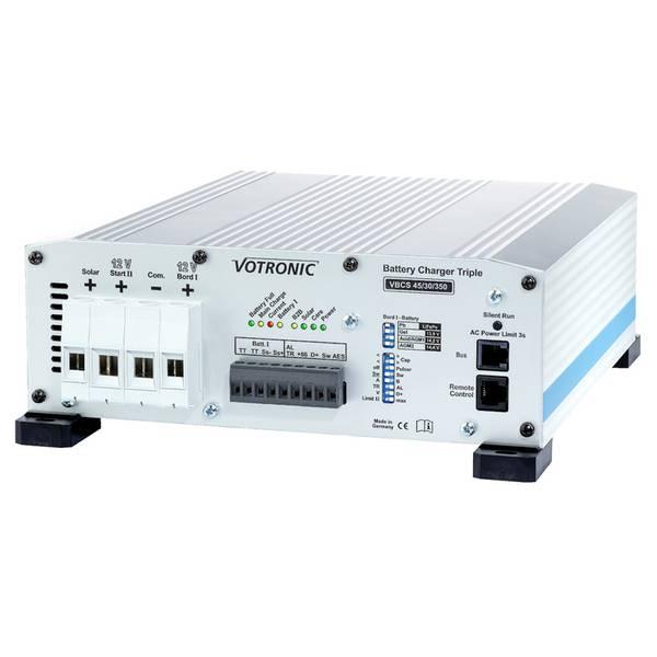 Bilde av VOTRONIC VBCS 45/30-350 Triple - Batterilader / DC-DC / MPPT