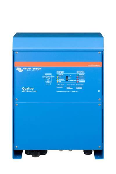 Bilde av VICTRON Quattro 48/8000/110-100/100 Kombinert Batterilader og In