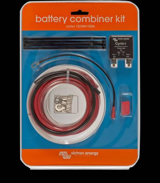 Bilde av VICTRON Cyrix-ct 12/24V Batteriskillerele - Komplett kit