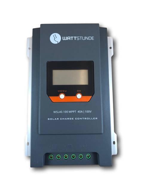 Bilde av WATTSTUNDE WSL40.100 MPPT 40A Solcelleregulator 12V/24V