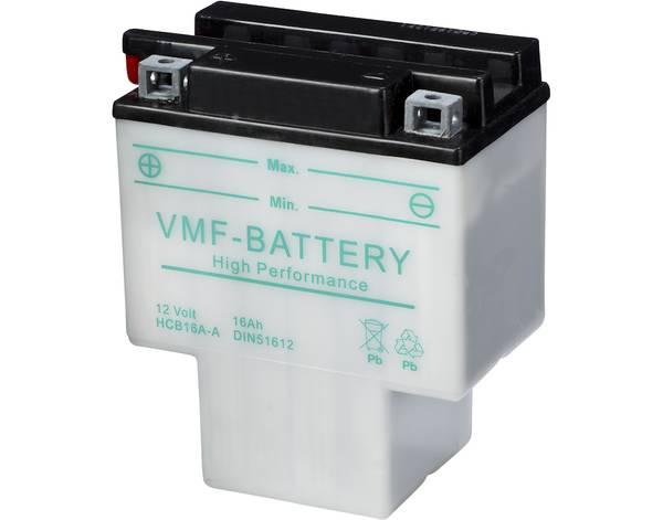 Bilde av HCB16A-A MC Batteri 12V 16AH 140CCA (151x91x182mm) +venstre HCB1