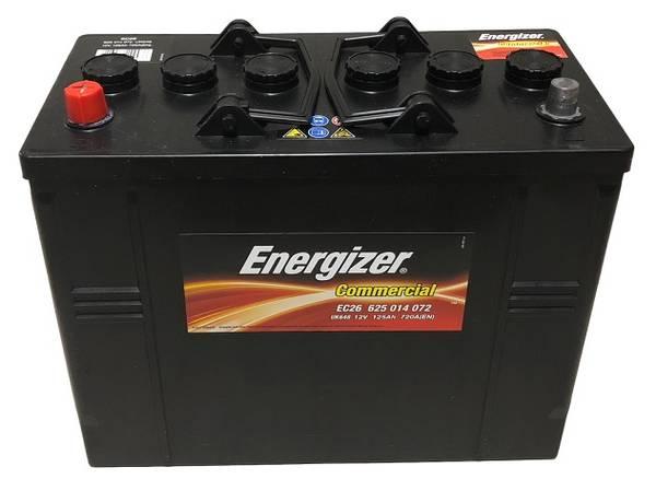 Bilde av EC26 ENERGIZER Commercial Batteri 12V 125AH 720CCA (349x175x270/