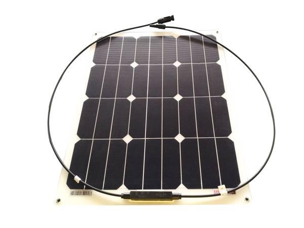 Bilde av 40W SKANBATT Fleksibelt Solcellepanel Mono 40W