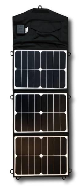 Bilde av SKANBATT Sammenleggbart solcellepanel 45W 24V
