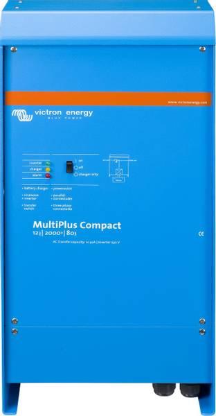 Bilde av VICTRON MultiPlus C12/2000/80 kombi inverter og lader