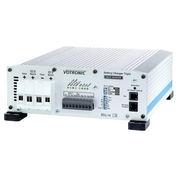 Bilde av VOTRONIC VBCS 30/20/250 Triple - Batterilader / DC-DC / MPPT