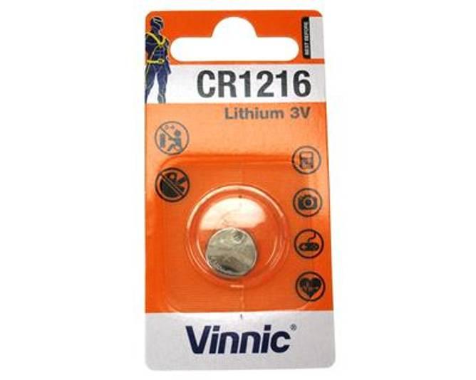 Bilde av Vinnic CR 1216 Blister card pack