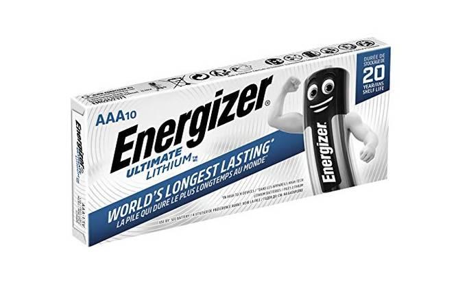 Bilde av  Energizer Lithium AAA/L92 (10-pack)