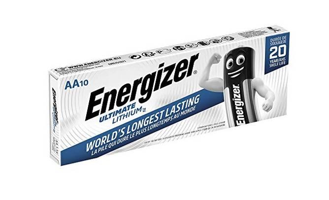 Bilde av  Energizer Lithium AA/L91 (10-pack)