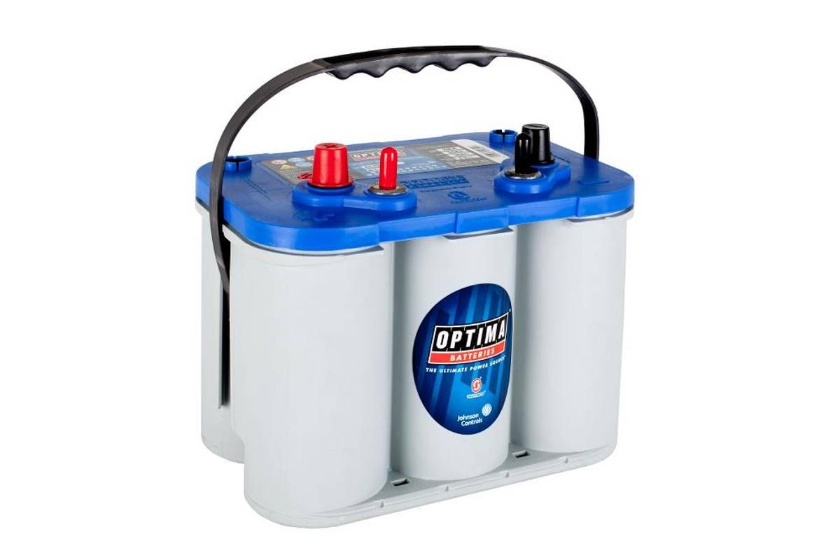 OptimaBlueTop AGMbtdc4,2 Startbatteri og forbruksbatteri