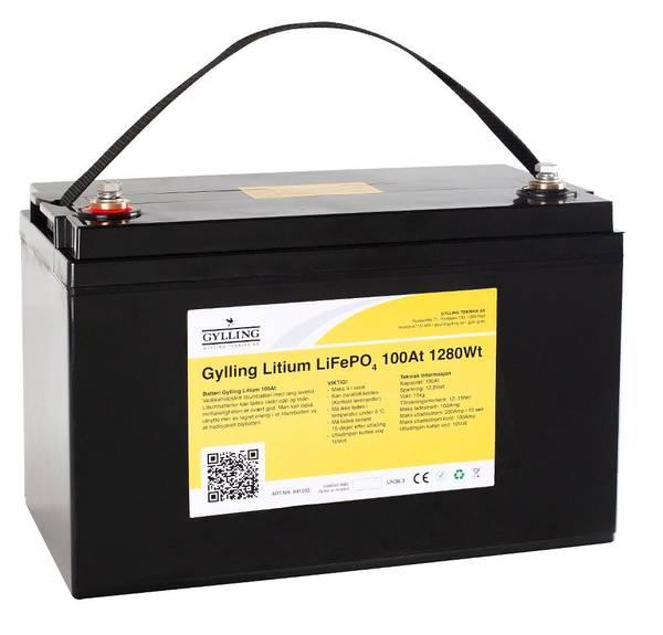 Bilde av Litiumbatteri LiFePo4 100A-