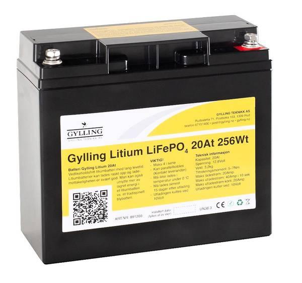 Bilde av Litiumbatteri LiFePo4 20Ah-