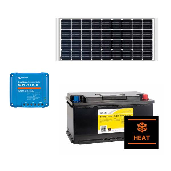 Bilde av Solcellepakke for bobil og