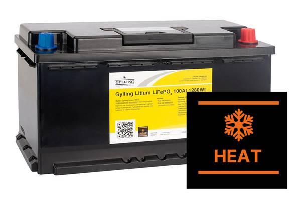 Bilde av Litiumbatteri LifePO4 HEAT