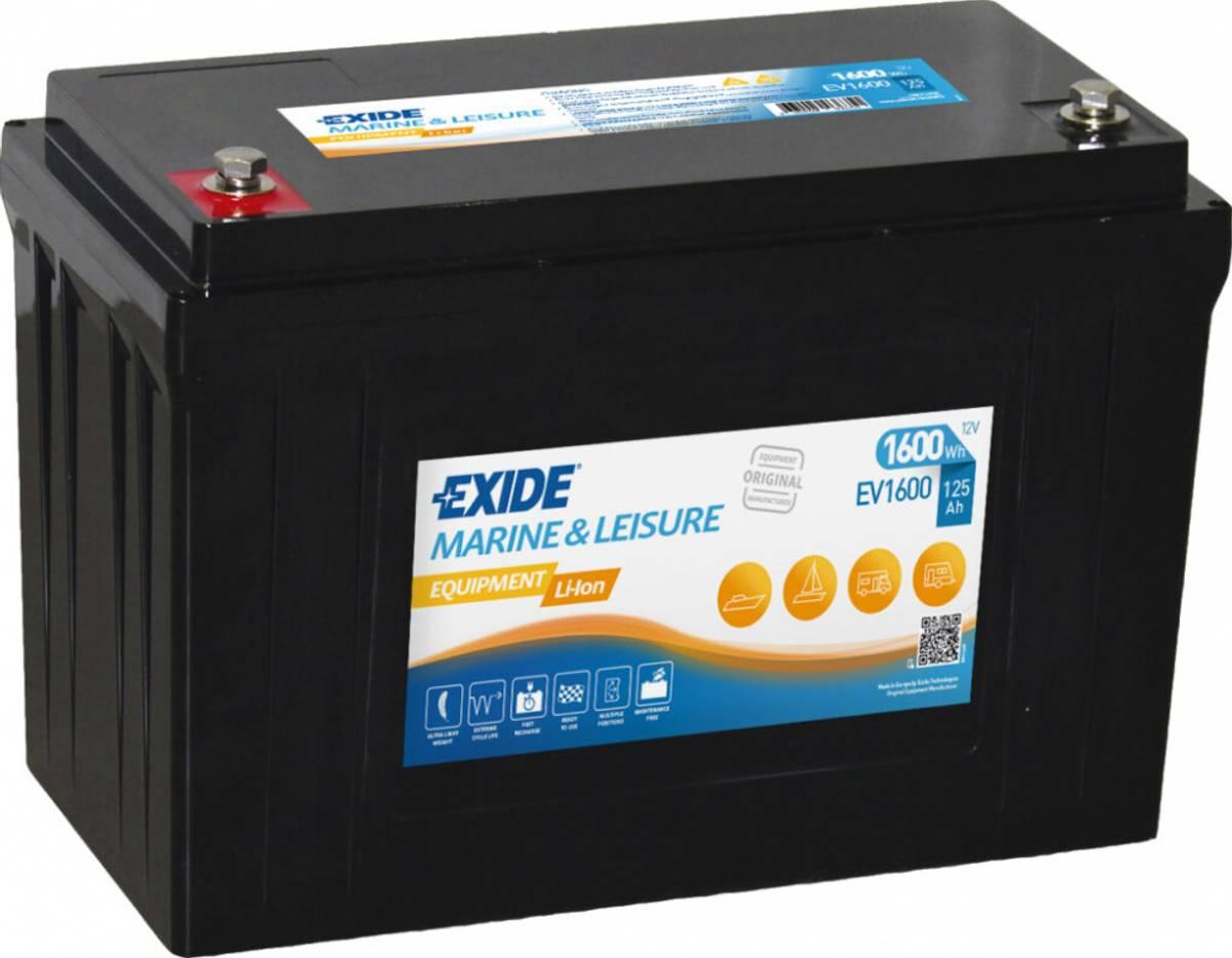 Litiumbatteri EV1600 EXIDE EQUIPMENT med BSM
