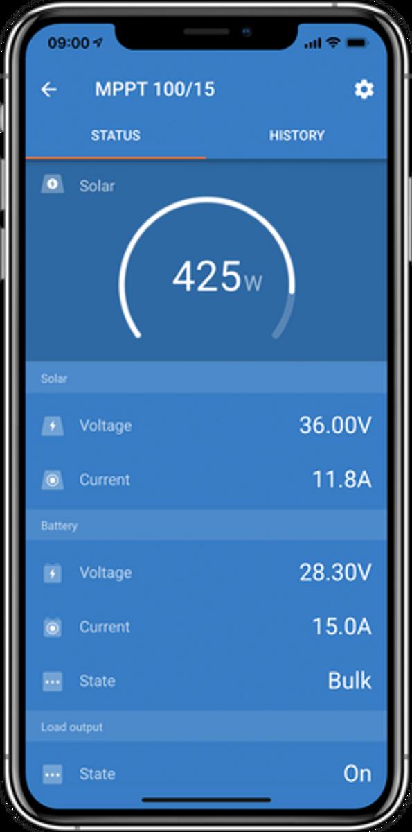 SmartSolar MPPT 100/30 lader for solenergi