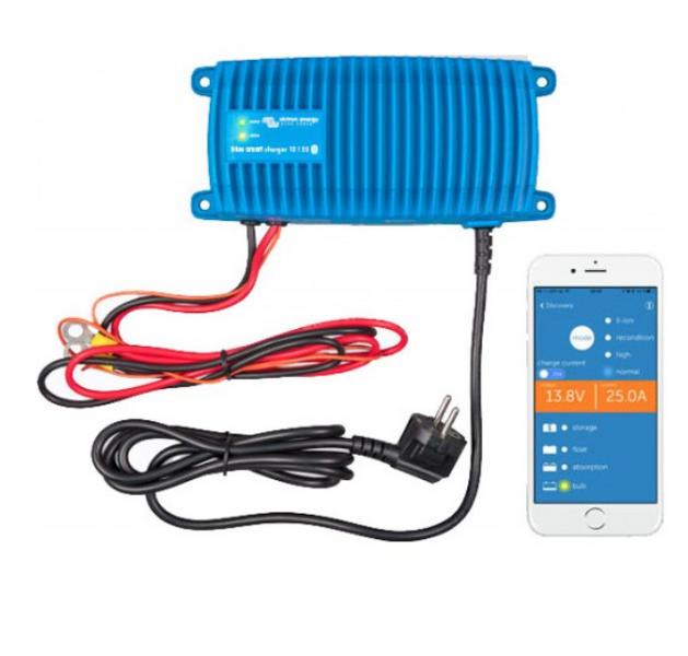 Batterilader 12V 13A m/Bluetooth