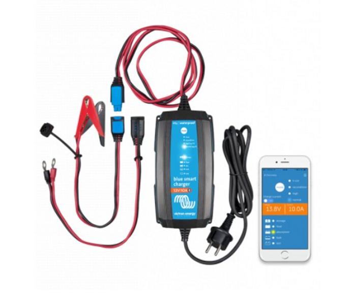 Batterilader 24V 5A m/Bluetooth