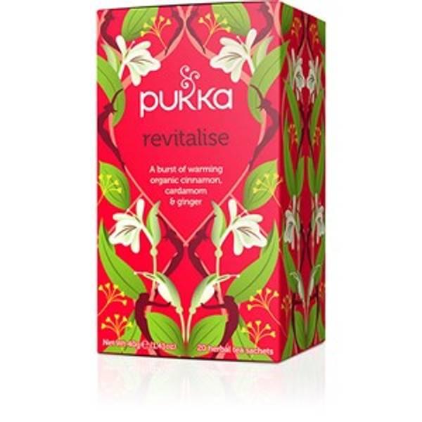 Bilde av Pukka revitalise te 20 poser økologisk
