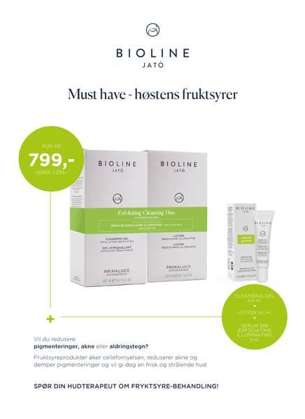 Bilde av Bioline Primaluce Cleansing Duo + Serum