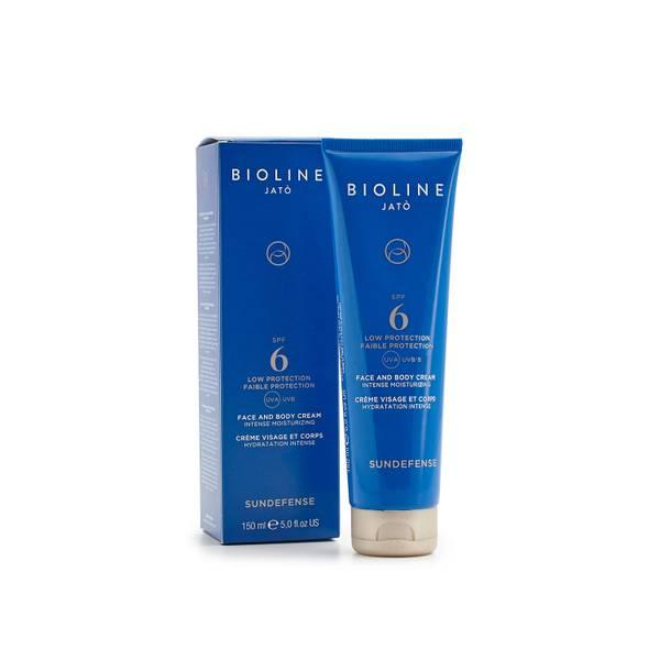 Bilde av Bioline Sundefense SPF6 Face/Body Cream Low Protection 150 ml