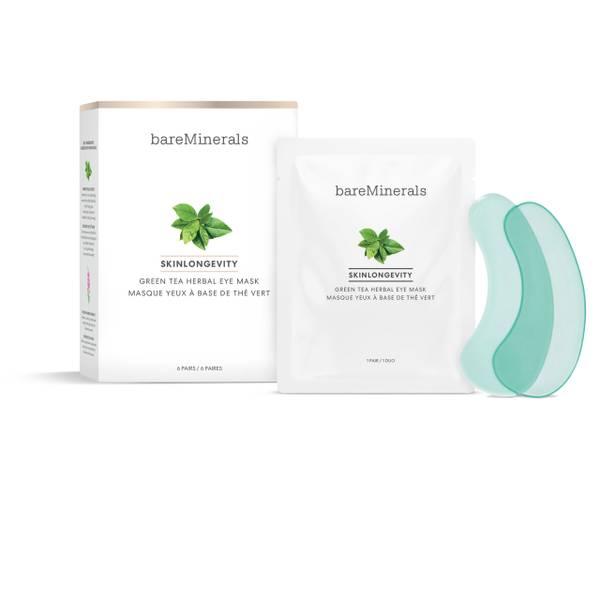 Bilde av bareMinerals Skinlongevity Green Tea Herbal Eye Mask