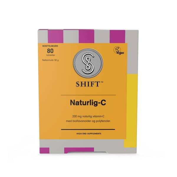 Bilde av Shift Naturlig-C 80 tabs