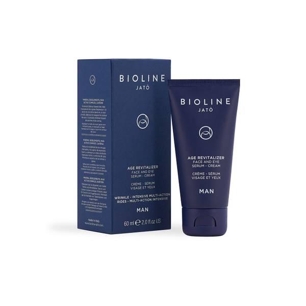 Bilde av Bioline MAN Age Revitalizer Face/Eye Serum Cream 60ml