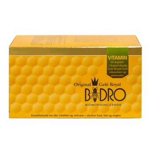 Bilde av Bidro gele royal vitamin 60 kap
