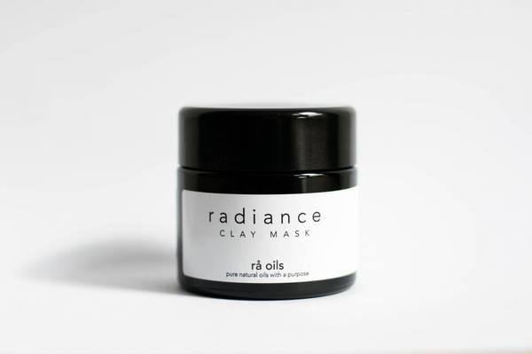 Bilde av rå oils radiance clay mask 60g