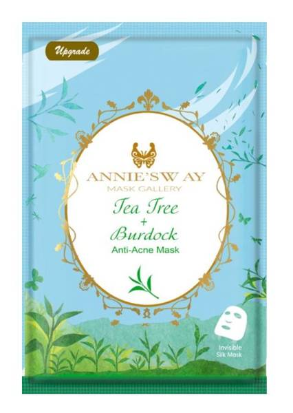 Bilde av ANNIE`S WAY TEA TREE + BURDOCK ANTI-ACNE MASK