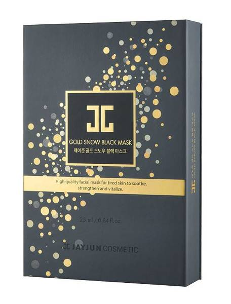 Bilde av JAYJUN GOLD SNOW BLACK MASK