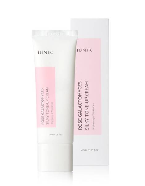 Bilde av IUNIK ROSE GALACTOMYCES SILKY TONE UP CREAM