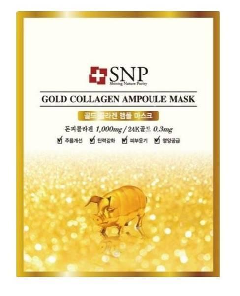 Bilde av  SNP GOLD COLLAGEN AMPOULE MASK