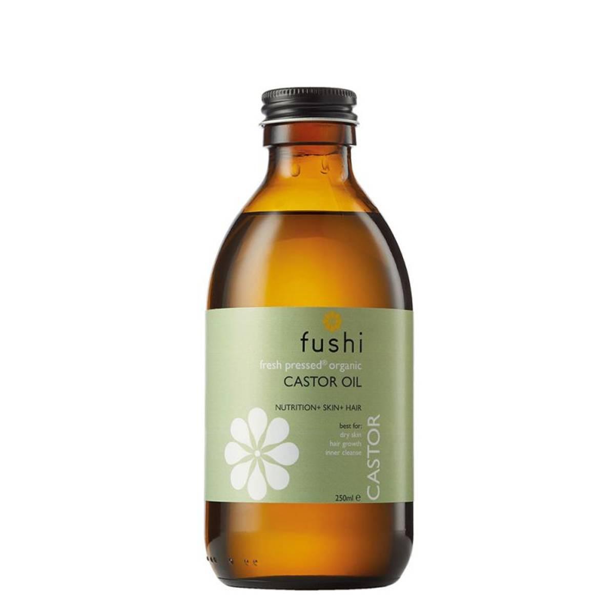 Castor olje, ferskpresset og økologisk, 250 ml / Fushi