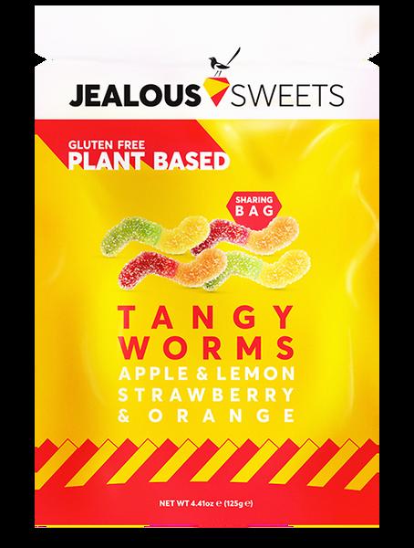 Bilde av Smågodt Tangy Worms 125 g / Jealous Sweets
