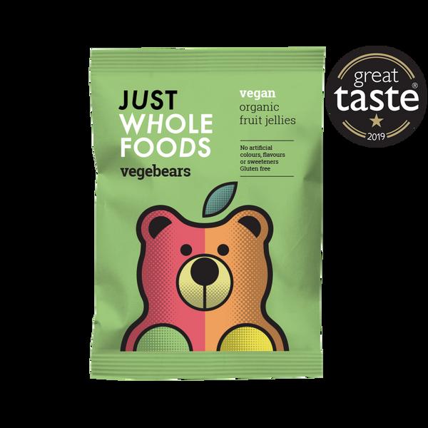 Bilde av Smågodt Vegebears 100 g / Just Wholefoods