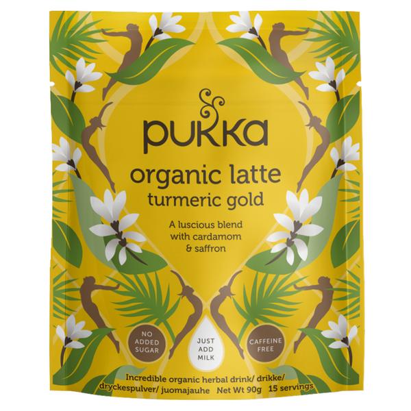 Bilde av Pukka Latte Turmeric gold 90g