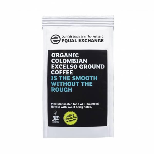 Bilde av Colombian Excelso malt kaffe / Equal Exchange