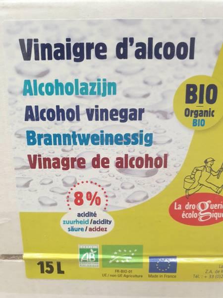 Bilde av 15L eddik 8%, kartong / La droguerie écologique