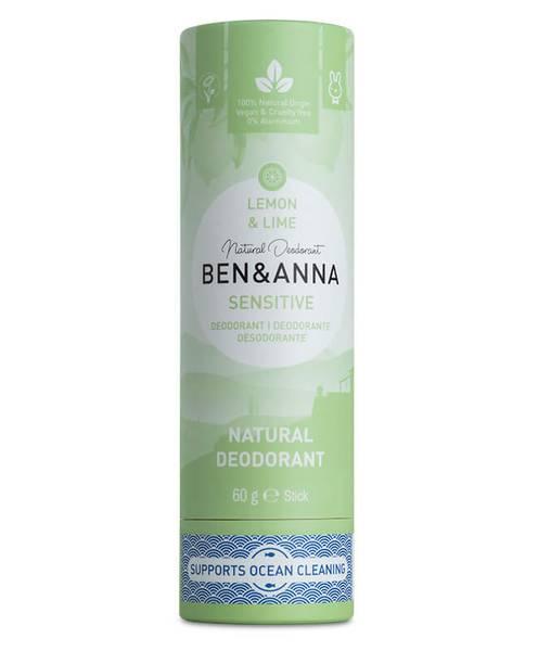 Bilde av Deodorantstift 60g /Lemon & Lime / Sensitiv hud / Ben & Anna