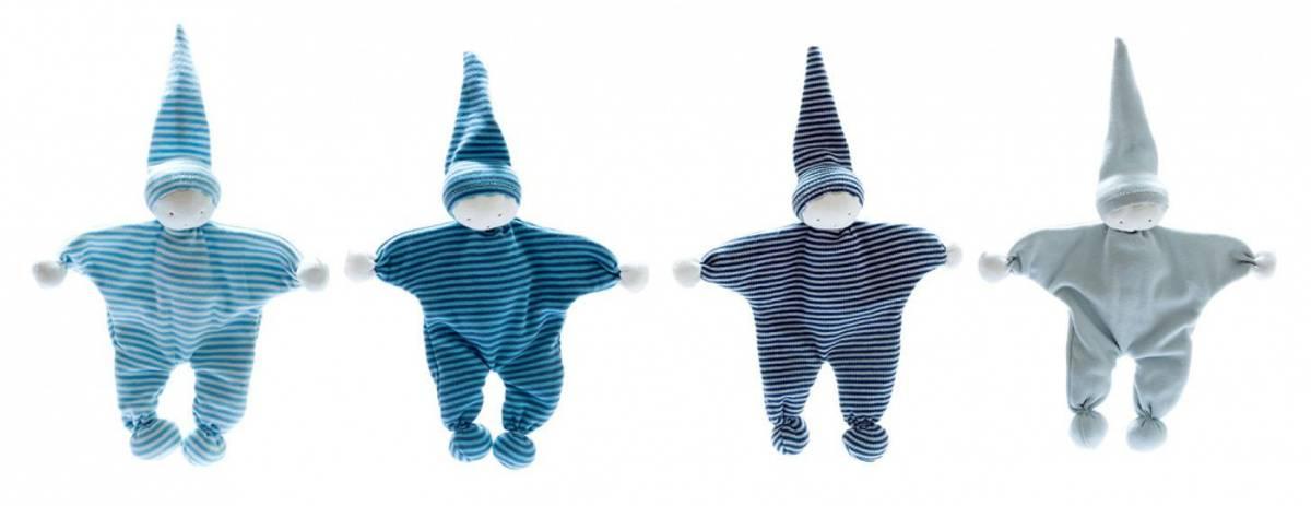 Koseklut Blue Stripe / Fairtrade & økologisk