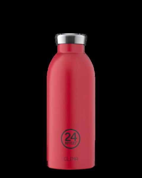 Bilde av CLIMA 0.5L Isolert termoflaske Hot red / 24Bottles