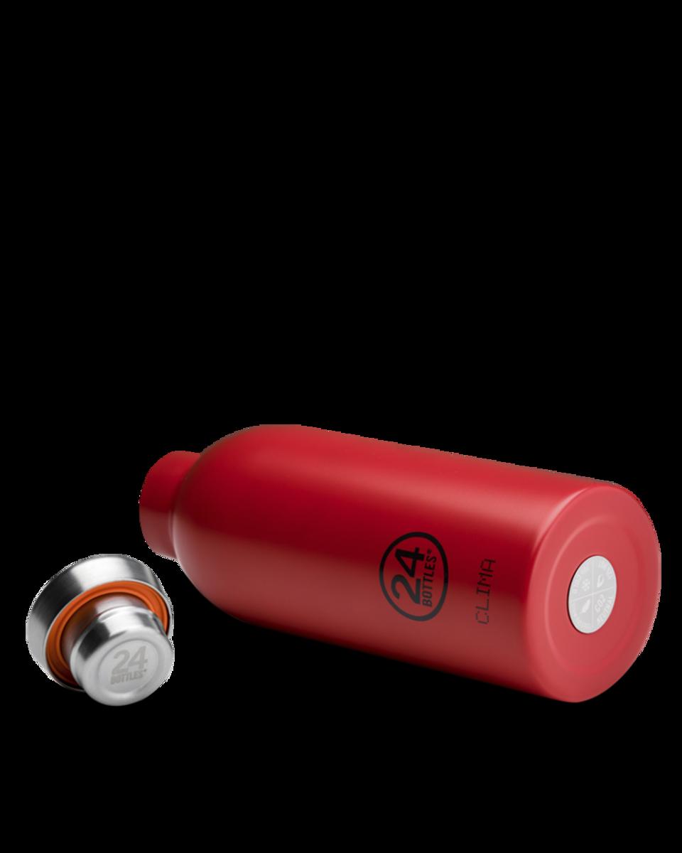 CLIMA 0.5L Isolert termoflaske Hot red / 24Bottles